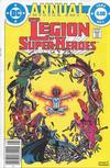Cover for The Legion of Super-Heroes Annual (DC, 1982 series) #1 [Newsstand]