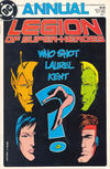 Cover for Legion of Super-Heroes Annual (DC, 1985 series) #1