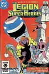 Cover Thumbnail for The Legion of Super-Heroes (1980 series) #304 [Direct]