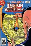 Cover Thumbnail for The Legion of Super-Heroes (1980 series) #307 [Direct-Sales]