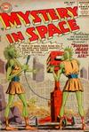 Cover for Mystery in Space (DC, 1951 series) #25