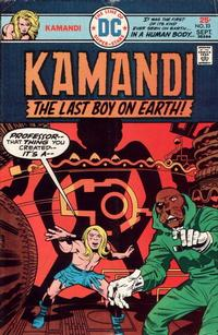 Cover Thumbnail for Kamandi, The Last Boy on Earth (DC, 1972 series) #33