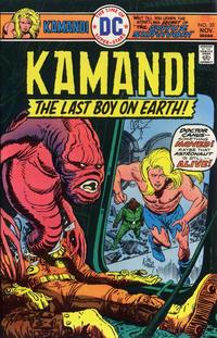 Cover Thumbnail for Kamandi, The Last Boy on Earth (DC, 1972 series) #35