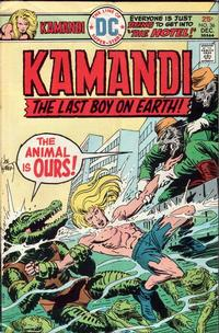 Cover Thumbnail for Kamandi, The Last Boy on Earth (DC, 1972 series) #36