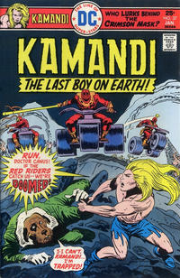 Cover Thumbnail for Kamandi, The Last Boy on Earth (DC, 1972 series) #37