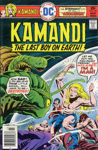 Cover Thumbnail for Kamandi, The Last Boy on Earth (DC, 1972 series) #39