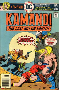 Cover Thumbnail for Kamandi, The Last Boy on Earth (DC, 1972 series) #42