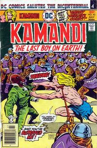 Cover Thumbnail for Kamandi, the Last Boy on Earth (DC, 1972 series) #43