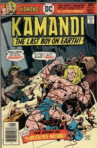 Cover Thumbnail for Kamandi, The Last Boy on Earth (DC, 1972 series) #45