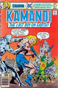 Cover Thumbnail for Kamandi, The Last Boy on Earth (DC, 1972 series) #46