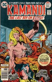 Cover Thumbnail for Kamandi, The Last Boy on Earth (DC, 1972 series) #47