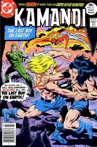 Cover Thumbnail for Kamandi, The Last Boy on Earth (DC, 1972 series) #51