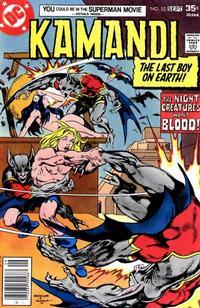 Cover Thumbnail for Kamandi, The Last Boy on Earth (DC, 1972 series) #52