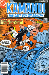Cover Thumbnail for Kamandi, The Last Boy on Earth (DC, 1972 series) #58