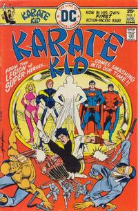 Cover Thumbnail for Karate Kid (DC, 1976 series) #1