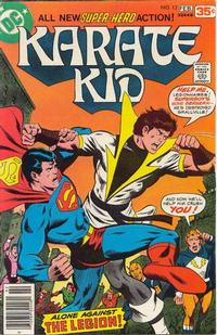 Cover Thumbnail for Karate Kid (DC, 1976 series) #12