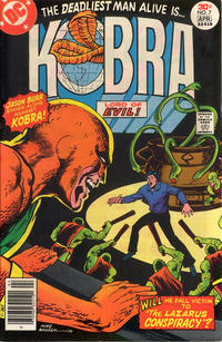 Cover Thumbnail for Kobra (DC, 1976 series) #7