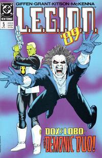 Cover Thumbnail for L.E.G.I.O.N. '89 (DC, 1989 series) #5