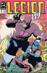 Cover Thumbnail for L.E.G.I.O.N. '89 (DC, 1989 series) #6