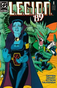 Cover Thumbnail for L.E.G.I.O.N. '89 (DC, 1989 series) #8
