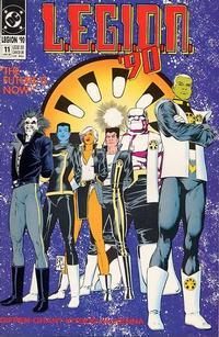Cover Thumbnail for L.E.G.I.O.N. '90 (DC, 1990 series) #11
