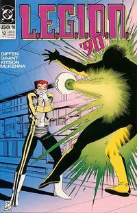 Cover Thumbnail for L.E.G.I.O.N. '90 (DC, 1990 series) #12