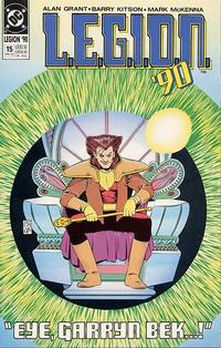 Cover Thumbnail for L.E.G.I.O.N. '90 (DC, 1990 series) #15