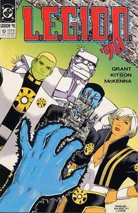Cover Thumbnail for L.E.G.I.O.N. '90 (DC, 1990 series) #17