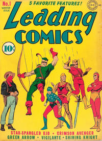 Cover Thumbnail for Leading Comics (DC, 1941 series) #1