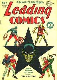 Cover Thumbnail for Leading Comics (DC, 1941 series) #2