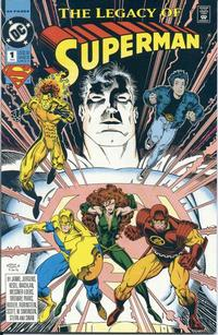 Cover Thumbnail for Superman: The Legacy of Superman (DC, 1993 series) #1