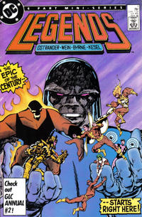 Cover Thumbnail for Legends (DC, 1986 series) #1 [Direct]