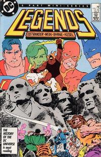 Cover Thumbnail for Legends (DC, 1986 series) #3 [Direct]