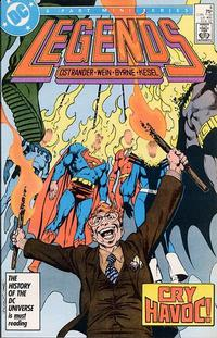 Cover Thumbnail for Legends (DC, 1986 series) #4 [Direct]
