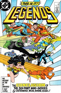 Cover Thumbnail for Legends (DC, 1986 series) #6 [Direct]