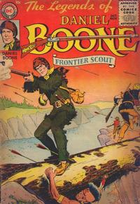 Cover Thumbnail for The Legends of Daniel Boone (DC, 1955 series) #1