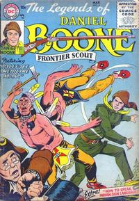 Cover Thumbnail for The Legends of Daniel Boone (DC, 1955 series) #4