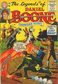 Cover Thumbnail for The Legends of Daniel Boone (DC, 1955 series) #5