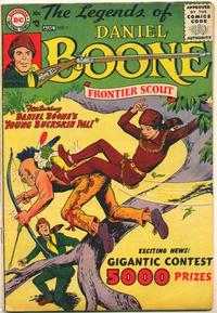 Cover Thumbnail for The Legends of Daniel Boone (DC, 1955 series) #7
