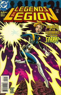 Cover Thumbnail for Legends of the Legion (DC, 1998 series) #2 [Direct Sales]