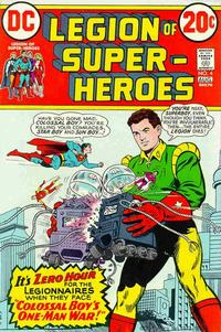 Cover Thumbnail for Legion of Super-Heroes (DC, 1973 series) #4