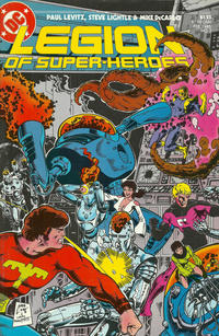 Cover Thumbnail for Legion of Super-Heroes (DC, 1984 series) #7