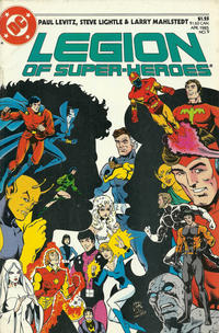 Cover Thumbnail for Legion of Super-Heroes (DC, 1984 series) #9