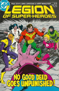 Cover Thumbnail for Legion of Super-Heroes (DC, 1984 series) #19