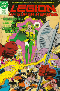 Cover Thumbnail for Legion of Super-Heroes (DC, 1984 series) #21