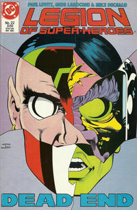 Cover Thumbnail for Legion of Super-Heroes (DC, 1984 series) #22