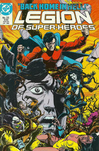 Cover Thumbnail for Legion of Super-Heroes (DC, 1984 series) #23
