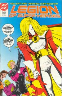 Cover Thumbnail for Legion of Super-Heroes (DC, 1984 series) #24