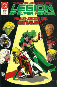 Cover Thumbnail for Legion of Super-Heroes (DC, 1984 series) #25