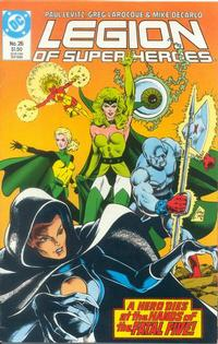 Cover Thumbnail for Legion of Super-Heroes (DC, 1984 series) #26